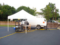 Tents tables chairs rental Buffalo NY