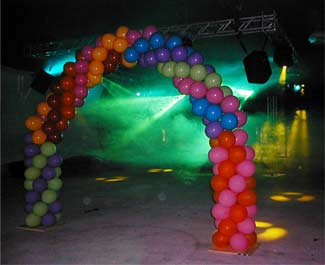 Lighting Effects, Moving Lights, Disco Ball, Smoke Machines, Party Decorations